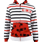 All Time Low - Stripes (Zip Up Hoodie) [入荷予約商品]