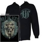War Of Ages - Lion Shield (Zip Up Hoodie) [入荷予約商品]