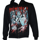 Bleeding Through - Warrior (Zip Up Hoodie) [入荷予約商品]