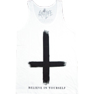 The Anti Life - Believe In Yourself (Tank Top) (White)