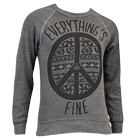 The Summer Set - Peace Sign (Grey) (Sweat) [入荷予約商品]