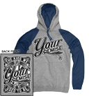 Your Demise - Used to Be (Heather Grey/Navy) (Hoodie) [入荷予約商品]