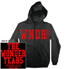The Wonder Years - WNDR (Black) (Zip Up Hoodie) [入荷予約商品]