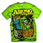 Asking Alexandria - Sleep Over (Lime Green)