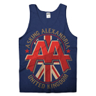 Asking Alexandria - UK (Navy) (Tank Top) [入荷予約商品]