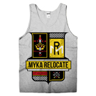 Myka Relocate - Crest (Heather Grey) (Tank Top) [入荷予約商品]