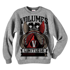 Volumes - Limitless (Heather Grey) (Sweat) [入荷予約商品]