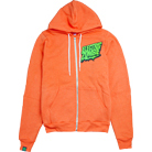 Electric Zombie - Ecto (Neon Orange) (Zip Up Hoodie)