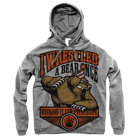 Iwrestledabearonce - Party Mascot (Heather Grey) (Hoodie) [入荷予約商品]