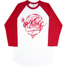 Asking Alexandria - Viper (White/Red) (Baseball)