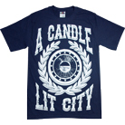A Candle Lit City - Laurel (Navy)