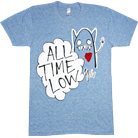 All Time Low - Heart Monster (Athletic Triblend Blue)
