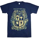 This Time Next Year - Drop Out Of Life Crest (Navy)