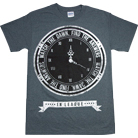 In League - Clock (Dark Heather)
