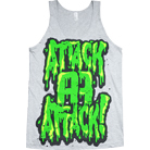 Attack Attack! - Slime Logo (Tank Top)