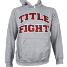 Title Fight - Maroon Logo (Heather Grey) (Hoodie) [入荷予約商品]