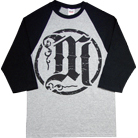 Make Me Famous - Circle M (Heather Grey/Black) (Baseball)