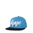 Agape Attire Clothing - Fresh Script (Blue/Navy) (Snapback)