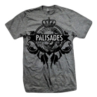 Palisades - Crown Logo (Dark Heather Grey) [入荷予約商品]