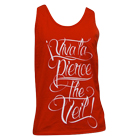Pierce The Veil - Viva La PTV (Red) (Tank Top) [入荷予約商品]