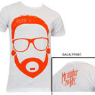 Memphis May Fire - Cartoon Matty (White) [入荷予約商品]