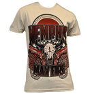Memphis May Fire - Skull & Guns (Cream) [入荷予約商品]
