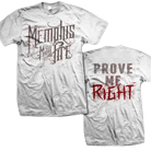 Memphis May Fire - Prove Me Right (White) [入荷予約商品]