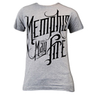 Memphis May Fire - Logo (Heather Gray) [入荷予約商品]