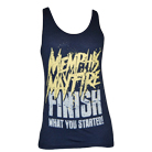 Memphis May Fire - Finish What You Started (Navy) (Tank Top) [入荷予約商品]