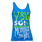 Memphis May Fire - Told You So (Blue) (Tank Top) [入荷予約商品]