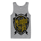 Memphis May Fire - Shield (Heather Grey) (Tank Top) [入荷予約商品]