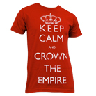Crown The Empire - Keep Calm (Red) [入荷予約商品]