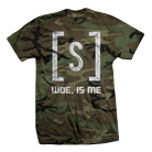 Woe, Is Me - Logo (Camo) [入荷予約商品]