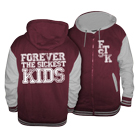 Forever The Sickest Kids - Logo (Maroon/Grey) (Letterman Jacket) [入荷予約商品]