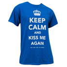 We Are The In Crowd - Keep Calm & Kiss Me (Blue) [入荷予約商品]