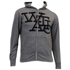 We Are The In Crowd - Letters (Gunmetal Heather) (Zip Up Hoodie) [入荷予約商品]
