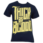Thick As Blood - Logo (Navy) [入荷予約商品]