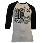 Chiodos - C Logo (Heather/Black) (Baseball) [入荷予約商品]