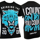 Mosh It Up Clothing - Count On You (Teal) [入荷予約商品]