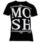 Mosh It Up Clothing - M O S H (White) [入荷予約商品]