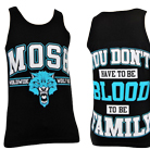 Mosh It Up Clothing - Worldwide Wolf Pack (Teal) (Tank Top) [入荷予約商品]