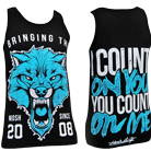 Mosh It Up Clothing - Count On You (Teal) (Tank Top) [入荷予約商品]