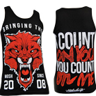 Mosh It Up Clothing - Count On You (Red) (Tank Top) [入荷予約商品]