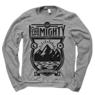 I The Mighty - Mountain (Heather Grey) (Sweat) [入荷予約商品]