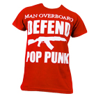 Man Overboard - Defend Pop Punk (Red) [入荷予約商品]