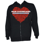 Man Overboard - Girls Like You (Zip Up Hoodie) [入荷予約商品]