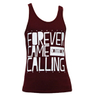 Forever Came Calling - Stack (Maroon) (Tank Top) [入荷予約商品]