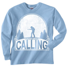 Forever Came Calling - Hunter (Light Blue) (Long Sleeve) [入荷予約商品]