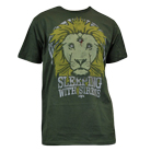 Sleeping With Sirens - Lion Crest (Olive Green) [入荷予約商品]