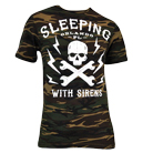 Sleeping With Sirens - Skull (Camo) [入荷予約商品]